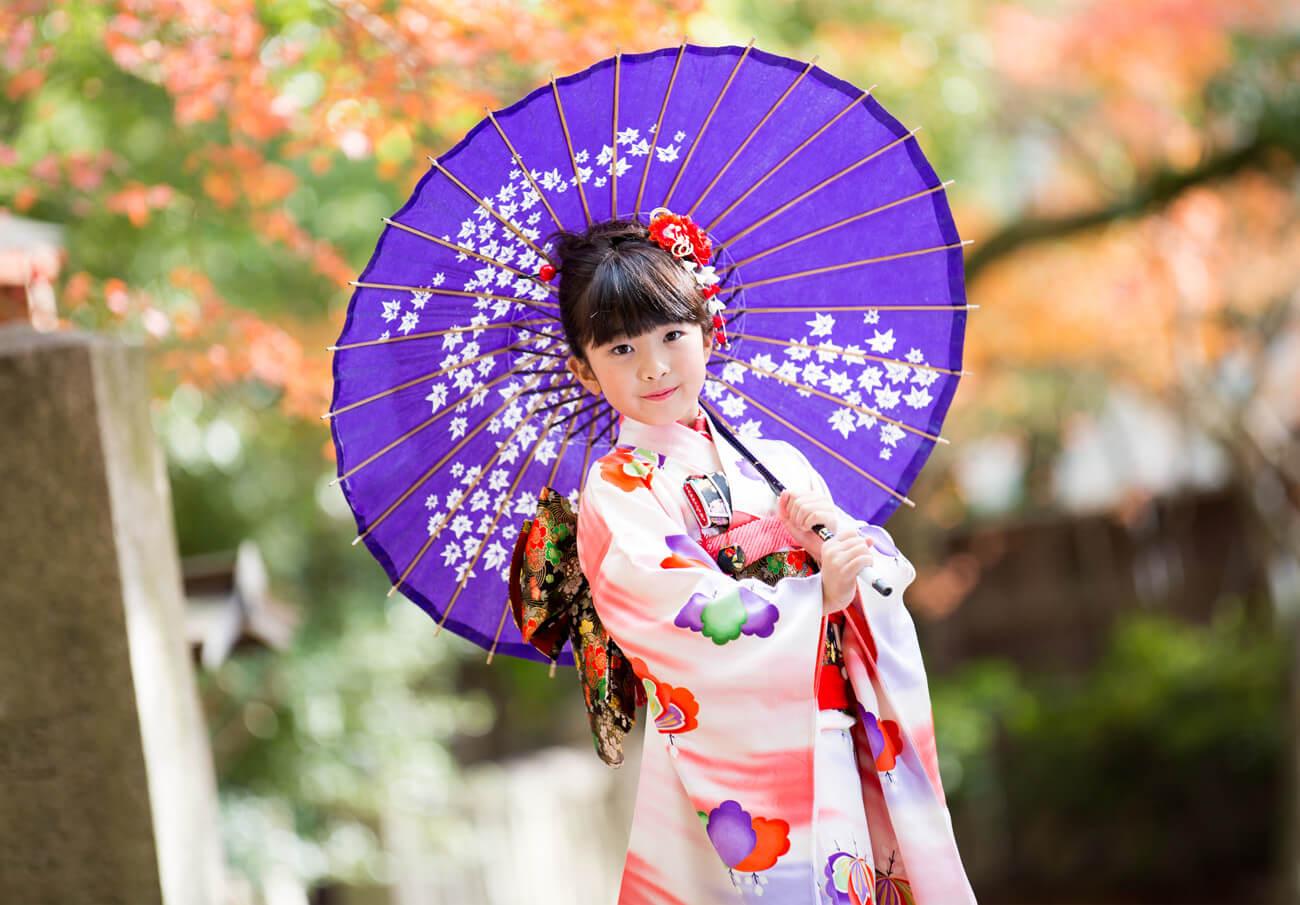 神戸・三宮の七五三撮影は子供写真館ココロスタジオで1
