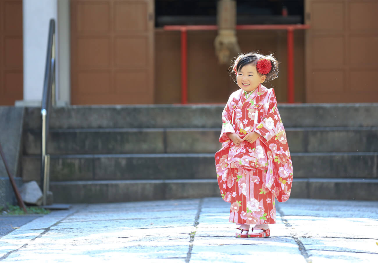 神戸・三宮の七五三撮影は子供写真館ココロスタジオで2
