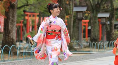 女の子七五三撮影用着付けレンタルパック