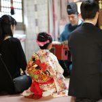 七五三どうせならスタジオや裏にある八幡神社でロケがしたい!