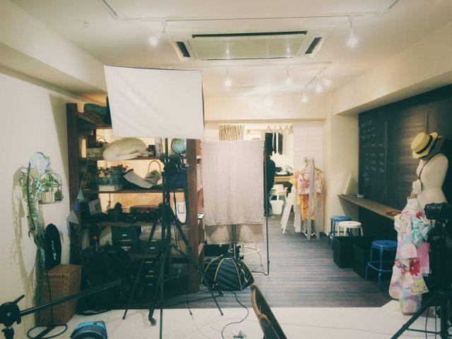 ココロスタジオ引越し前の景色