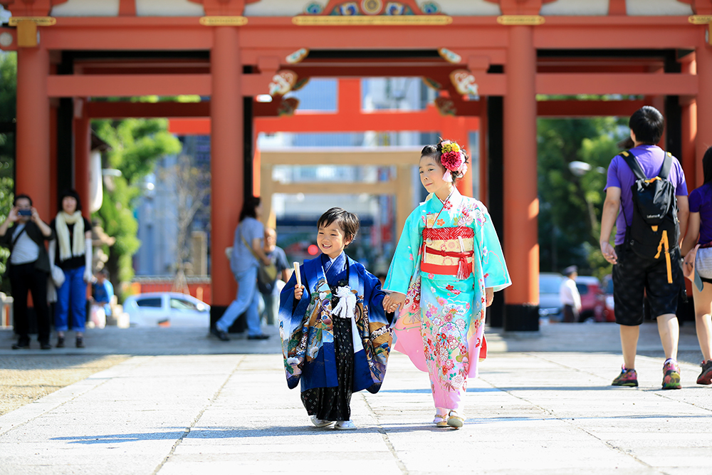 生田神社で七五三参り ロケーションフォトなら三宮のココロスタジオ