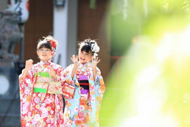 小野八幡神社で七五三 三宮のココロスタジオ