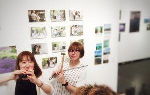 神戸アートビレッジセンター 1階ギャラリーにて展示