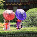 神戸市 相楽園で七五三ロケ撮影