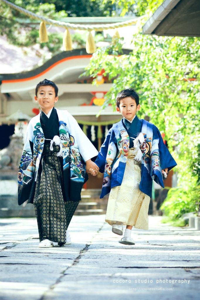 神戸市中央区 小野八幡神社 ロケーションフォトはココロスタジオ