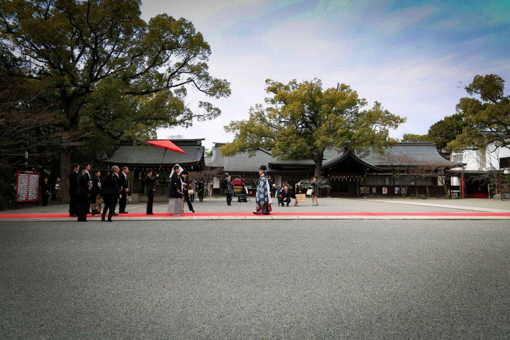 姫路護国神社 婚礼撮影