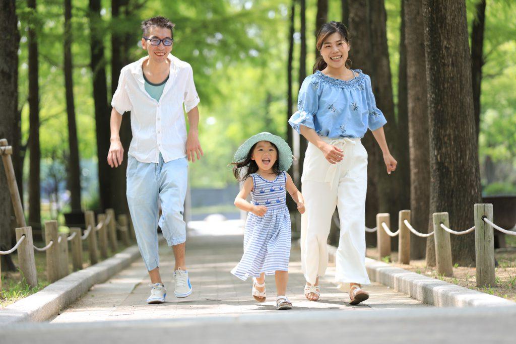 誕生撮影は三宮のココロスタジオ|神戸市中央区、東遊園地