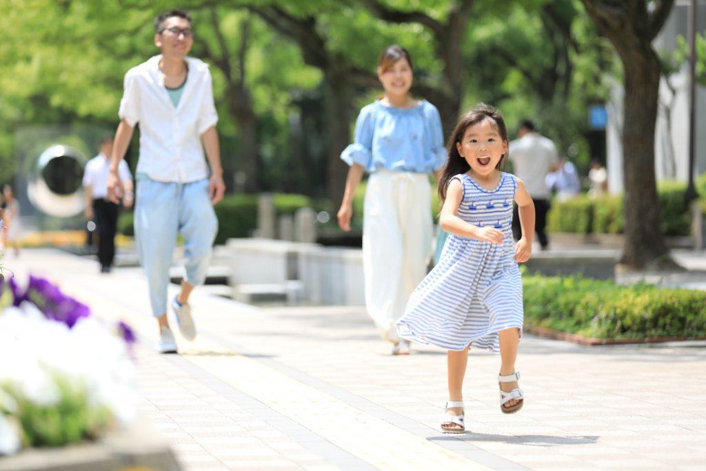 誕生の記念撮影は三宮のココロスタジオ|神戸市中央区、東遊園地