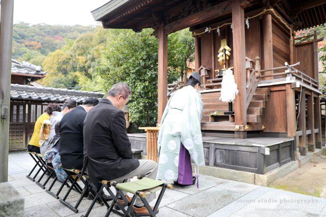 2017年北野天満神社 七五三のご祈祷