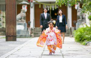 七五三ロケ撮影 ココロスタジオ 小野八幡神社