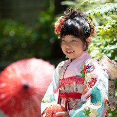 七五三撮影は神戸三ノ宮のココロスタジオ。